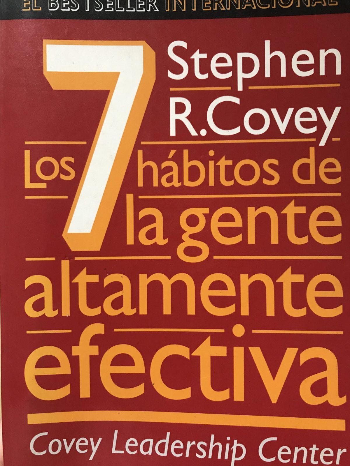 Portada del libro 7 hábitos de la gente altamente efectiva